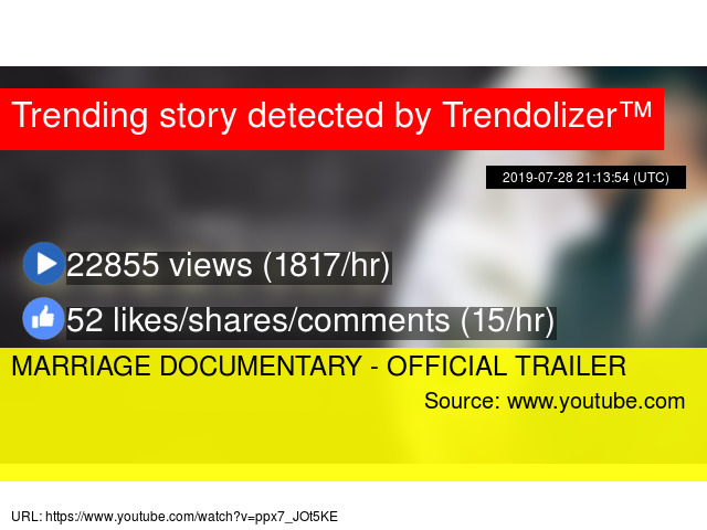MARRIAGE DOCUMENTARY - OFFICIAL TRAILER