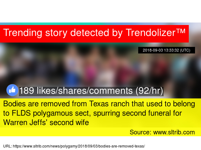 Bodies are removed from Texas ranch that used to belong to
